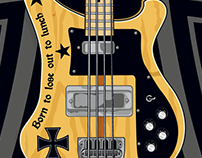 Lemmy Kilminster Rickenbacker Bass