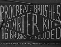 Procreate Brushes Starter Kit - FREE