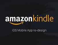 Amazon Kindle iOS Redesign