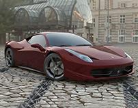 Ferrari | Daily Render project