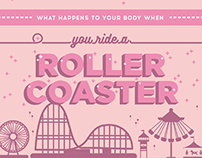 Galileo - Roller Coaster and the Body - Infographic