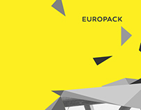 Europack [ ReBranding + Website + Print Design ]
