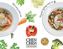 Designs for Chin Chin - Asian takeaway restaurant