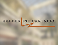 Copperline Partners Logo, Business Card & Stationary