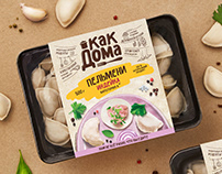 Just Like at Home: Design for Ravioli Package