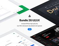Bundle 26 User Interfaces - .PSD