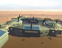 Mars Base Habitat