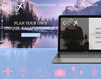 Go Vacation Travel UI/UX design