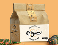 Nham // Cookies Veganos