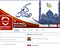 Facebook cover and profile pic for Multi Mega