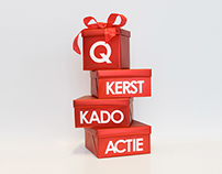 Qmusic gift logo