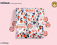 @lidiebugdesign x noissue Homepage - 05/11