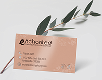Enchanted Massage | Branding