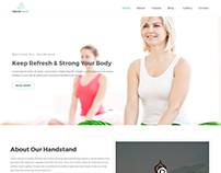 Handstand - Gym & Fitness WordPress Theme