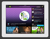 Univision - Mobile & Tablet Second Screen App