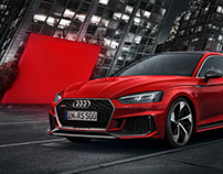 AUDI RS5 Launch