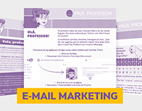 E-mail Marketing: Canal - Fala, professor!