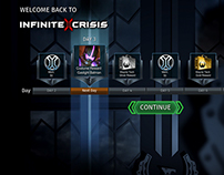 Infinite Crisis - Daily Login Rewards