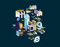 IE9 Branding | D&AD