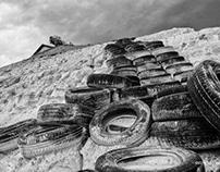 Tyre Stairway