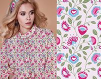 Textile Design For Bruberi Design Studio
