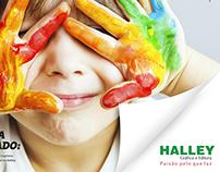 Anúncio Gráfica Halley