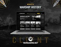WarshipHistory.net, Naval History Blog for Wargaming