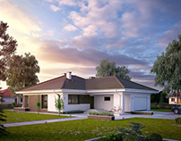 Projekt domu Kiwi 4