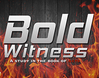 Bold Witness: Study in the book of Acts