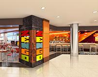Airport Restaurant Zengos Storefront DIA