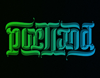 Portland Ambigram