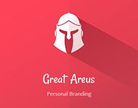 Great Areus - Personal Branding. Logo Design (Pt.1).