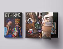 Ethnic magazine Concept