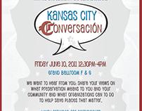 Kansas City Converacion for The Kansas City Museum