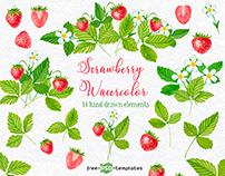 FREE STRAWBERRY WARETCOLOR
