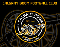 Calgary Boom FC no official logo design