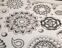 3D Flowers Pattern