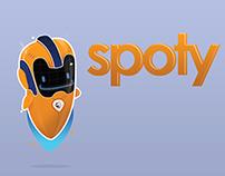 Personaje para videojuego de OnSpotMe App