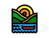 23/50: Boat. Draplin-esque canoe.