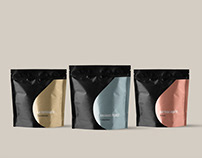 Lomi coffee packaging