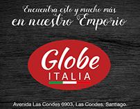 Globe Italia Rebrand Video