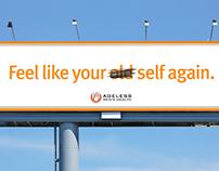 Ageless Men's Health Billboard