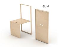 SLIM_wooden chair