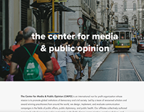 The Center for Media & Public Opinion Website