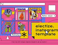 Electize Instagram Template
