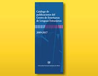 Catálogo de publicaciones CELE-UNAM (2009-2017)