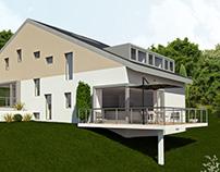 AG5 ARCHITECTS -Villa jumelée Suisse
