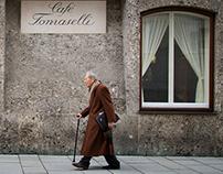 A winter Sunday through Mozart-town, Salzburg