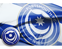 Portsmouth FC Crest Redesign Concept - Version 2