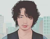 Ayano Gou Vector Fanart